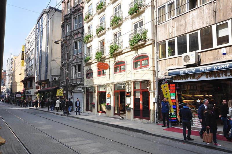 هتل اربوی سیرکچی (Erboy Hotel - Sirkeci Group)
