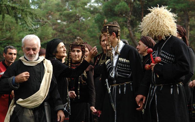 احوالپرسی در گرجستان