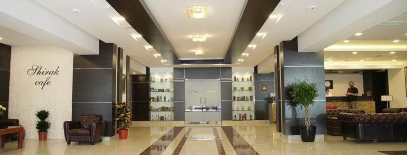 تور نوروز 96 هتل شیراک ایروان ارمنستان