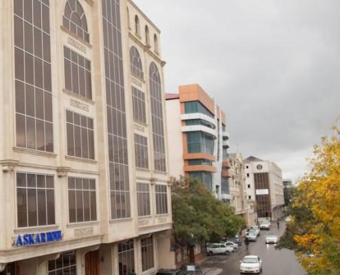تور نوروز 96 هتل عسکر باکو