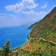 دریاچه وان بزرگ ترین دریاچه ترکیه