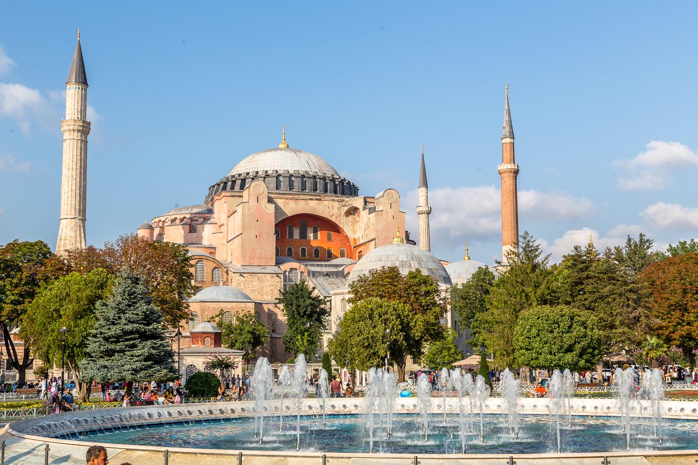 Hagia-Sophia-Mosque معرفی بهترین جاذبه های گردشگری ترابزون ترکیه | قسمت اول