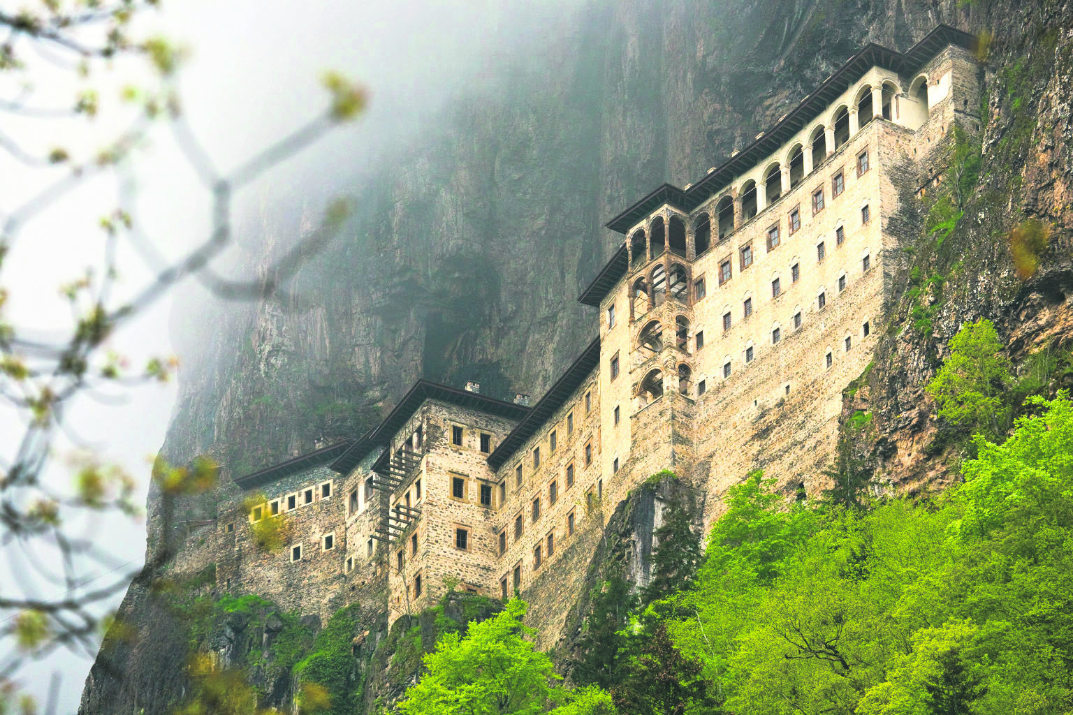 Mănăstirea-Sumela-Turcia