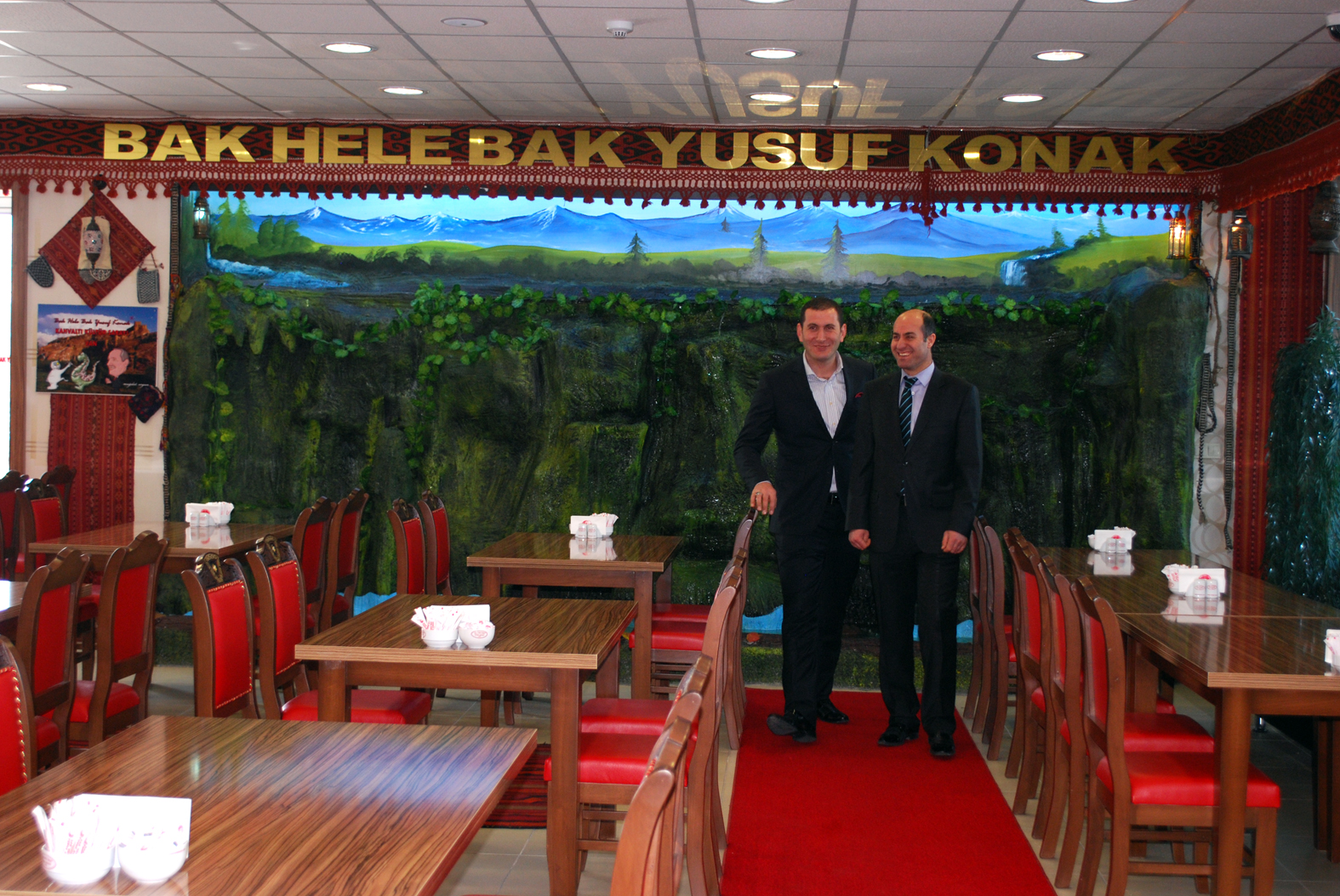Bak-Hele-Bak-Yusuf-Konak رستوران ها و کافه های شهر وان