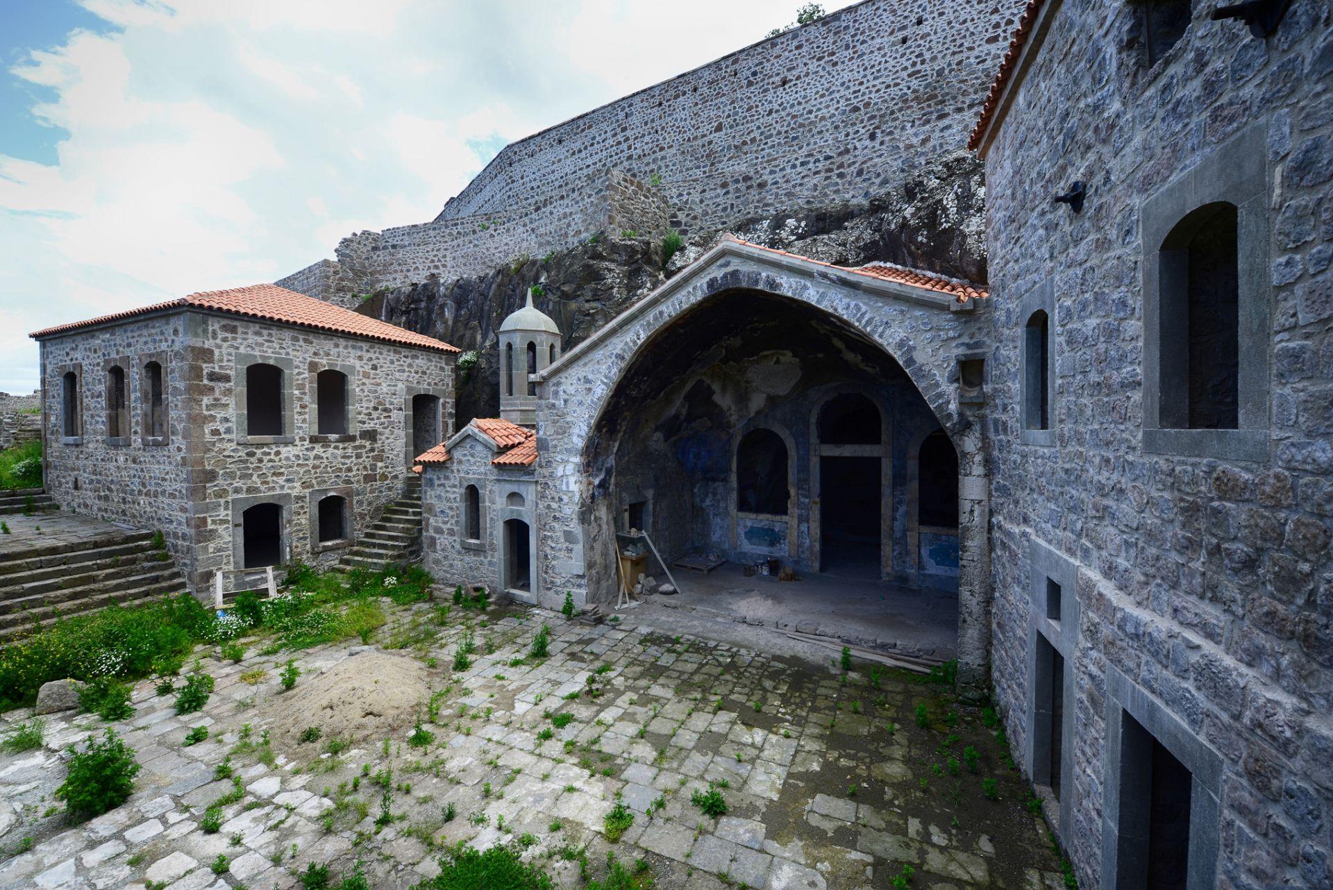 Kaymakli-Monastery معرفی بهترین جاذبه های گردشگری ترابزون ترکیه   قسمت دوم