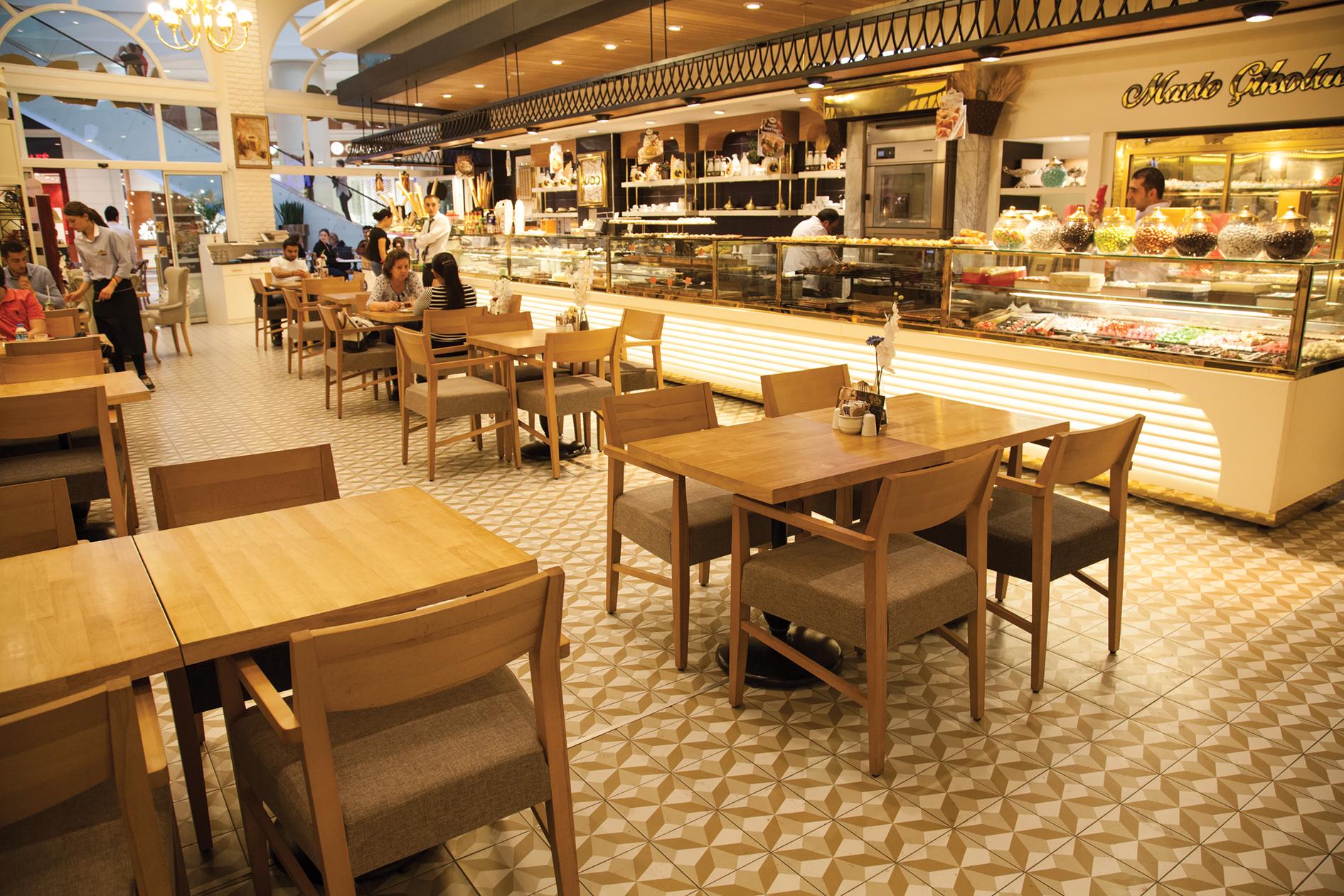 Mado رستوران ها و کافه های شهر وان