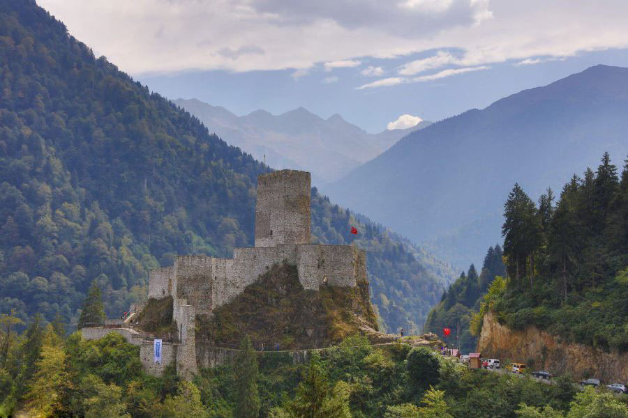 Walls-Of-Trabzon معرفی بهترین جاذبه های گردشگری ترابزون ترکیه   قسمت دوم