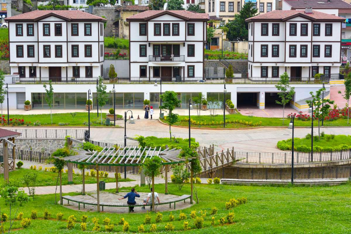 Zagnos-Park معرفی بهترین جاذبه های گردشگری ترابزون ترکیه   قسمت دوم