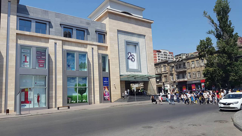 Mall-28 معرفی مراکز خرید باکو