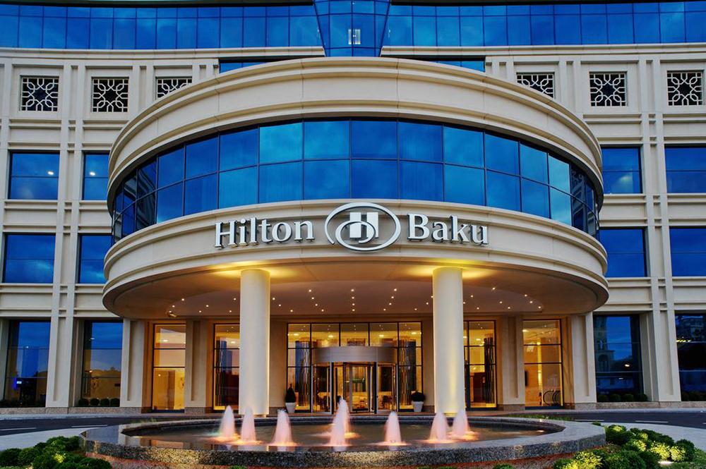 Hilton-Baku بهترین هتل های باکو | قسمت دوم