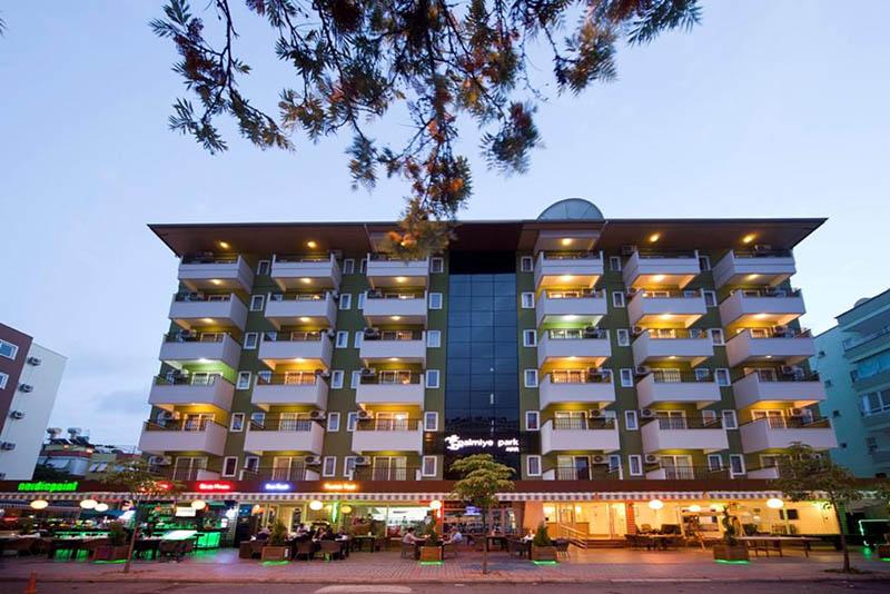 هتل پالمیه پارک Palmiye Park Apart Hotel