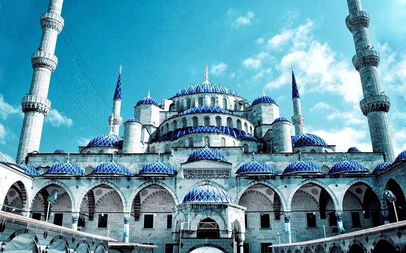 -آبی-یا-مسجد-سلطان-احمد جاذبه های دیدنی استانبول   قسمت اول