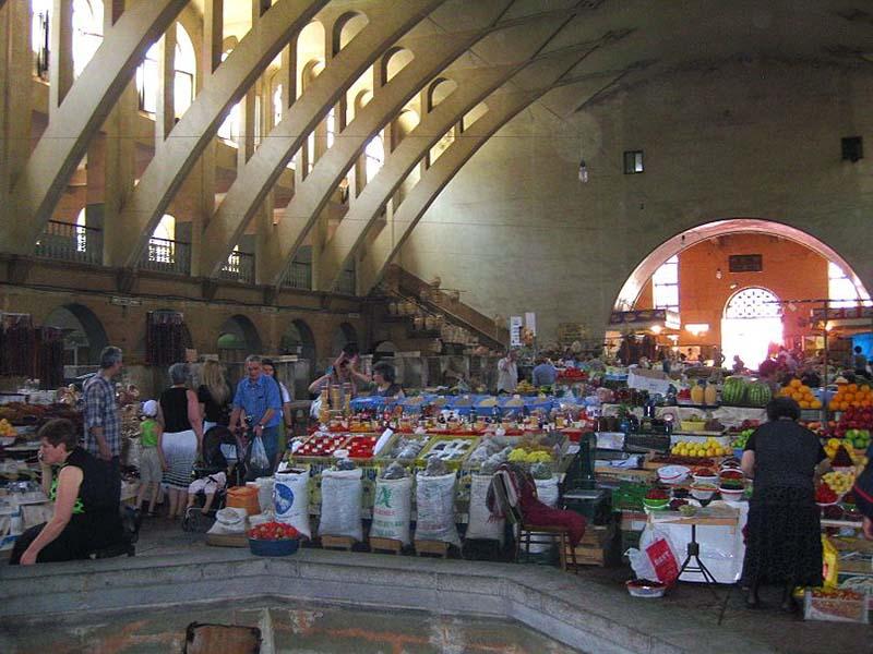 بازار سرپوشیده (Pak Shuka)