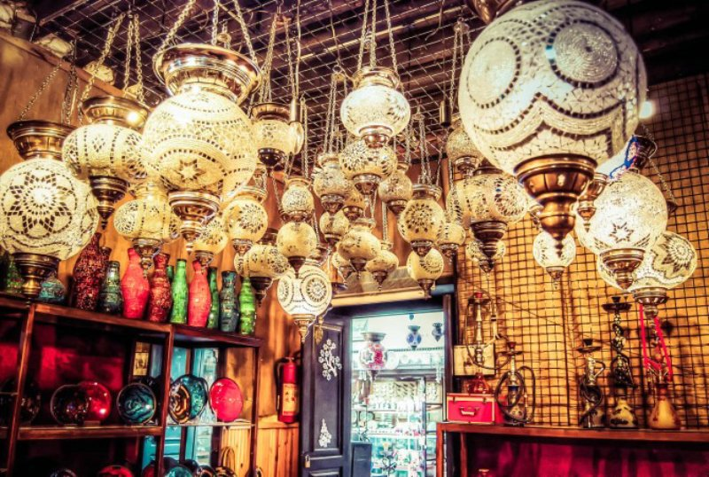 چراغهای آویز ترکی