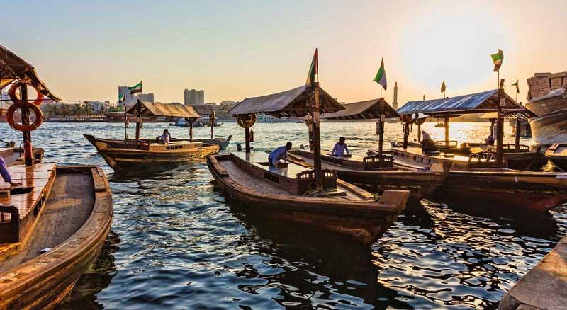 اسکله ابرا (Bur Dubai Abra Dock)