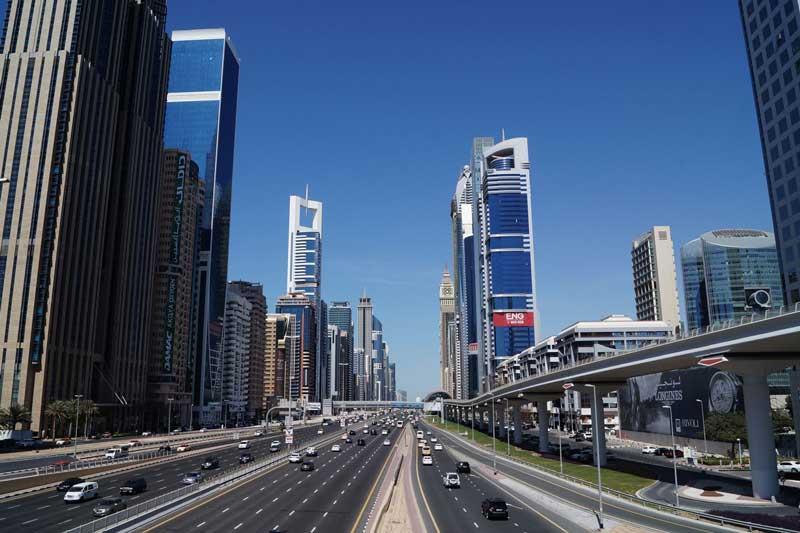 جاده شیخ زاید (Sheikh Zayed Road)
