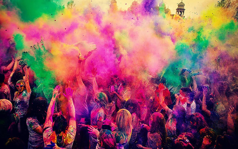 -رنگها جشنواره های دیدنی باکو