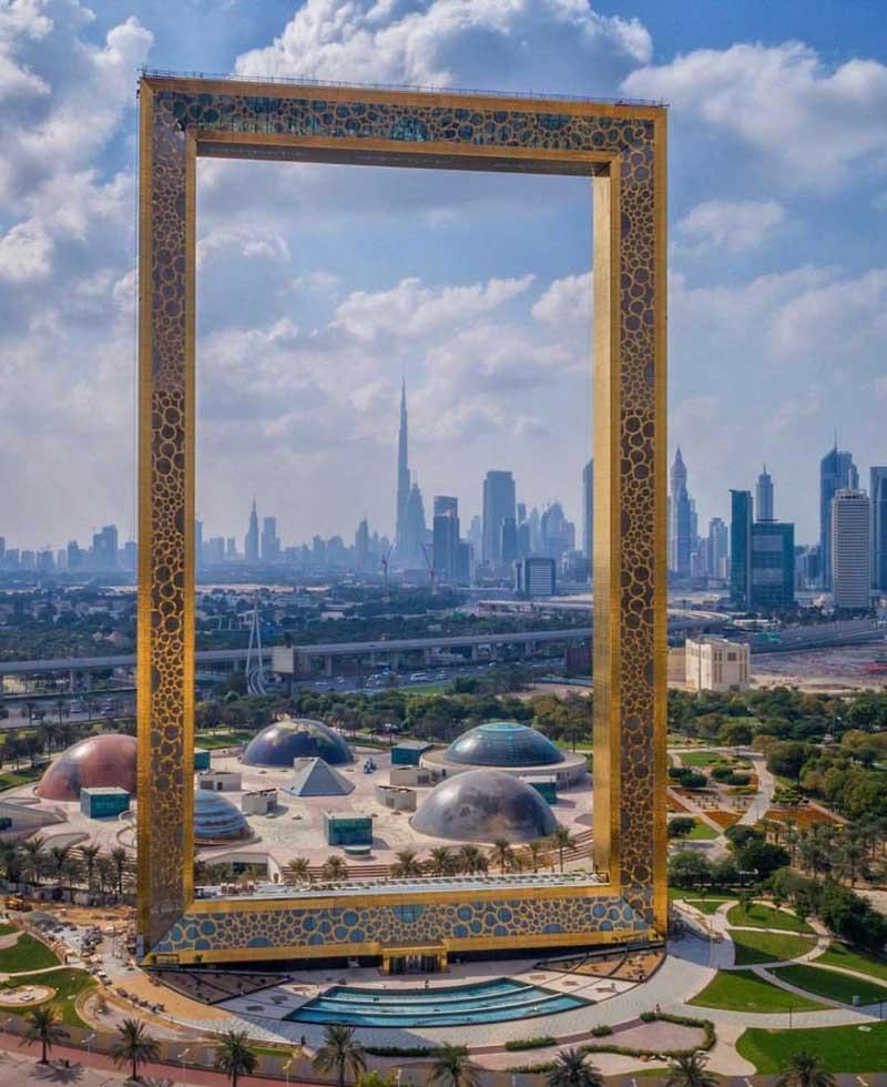 قاب عکس دبی (The Dubai Frame)