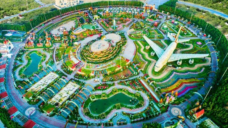 پارک معجزه دبی (Miracle Garden)