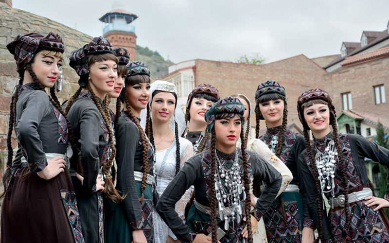 لباس سنتی در گرجستان