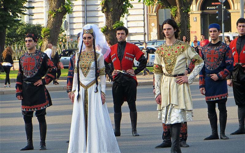 مهمان نوازی در گرجستان
