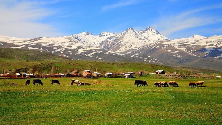 منطقه کوهستانی آراگاتس