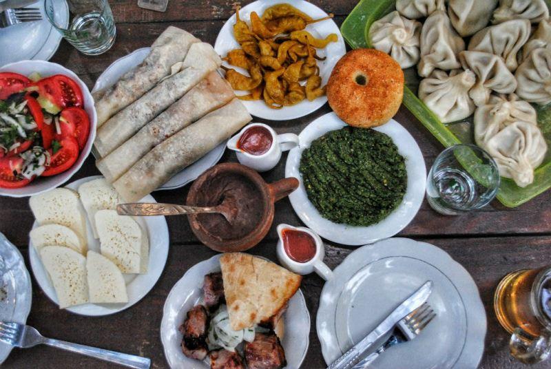 آشپزی لذیذ و متنوع گرجستان، برای همه ذائقهها غذایی دارد
