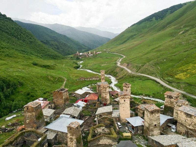 گرجستان میزبان مرتفعترین دهکدههای اروپا است